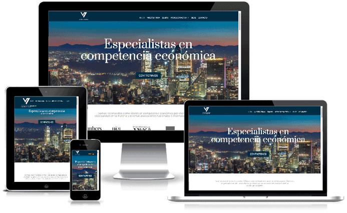 Rediseño Sitio Web Valdes Abascal Abogados SC