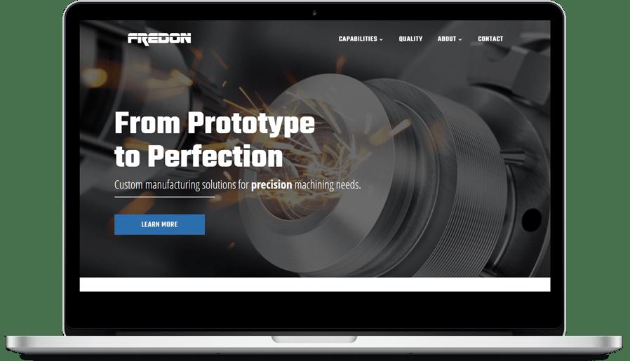 Rediseño Sitio Web Fredon Corp